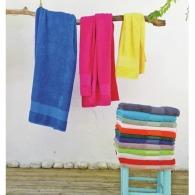 Serviettes et draps de douche avec personnalisation