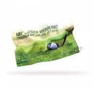 Serviette de golf publicitaire quadri sur-mesure