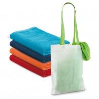 Serviette de plage basique avec sac