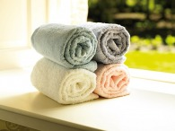 Serviette de toilette logotée towel city - 50 x 90 cm -