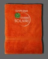 Serviettes de bain avec logo