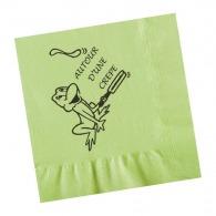 Serviette papier couleur 39x39cm (le mille)