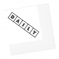 Serviette papier standard 33x33cm (le mille)