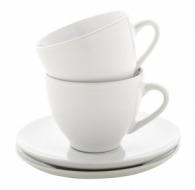 Set 2 tasses personnalisables cappuccino