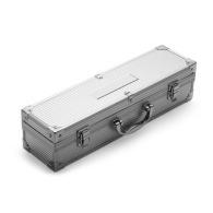 3-piece barbecue set in an aluminium case