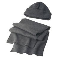 Set bonnet et écharpe polaires