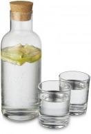 Set carafe personnalisable et verres Lane