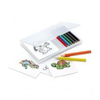 Crayons de couleur avec personnalisation