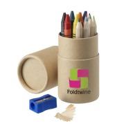 Set crayons de couleur et de cire