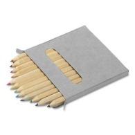 Set de 12 crayons de couleur personnalisés