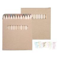 Crayons de couleur publicitaire