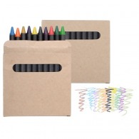 Set de 12 pastels de couleurs