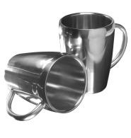 Set de 2 mugs en métal