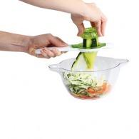Set de 2 taille-légumes avec bol