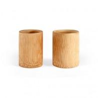 Set de 2 tasses en bambou