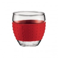 Set de 2 verres borosilicate BODUM Pavina 0.10 L