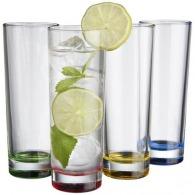 Set de 4 verres publicitaires