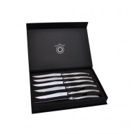 Set de 6 couteau laguiole de table inox
