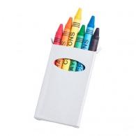 Set de 6 crayons de cire