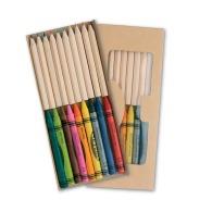 Set de coloriage personnalisé 19pcs