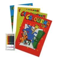 Set de coloriage publicitaire a4