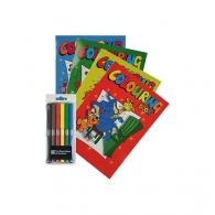 Set de coloriage publicitaire