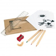 Set de crayons de couleur personnalisables