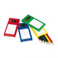 Set de crayons de couleur personnalisés rainbow