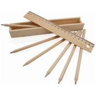 Set de crayons en bois