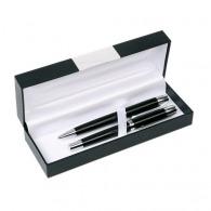 Parures avec stylo plume publicitaire