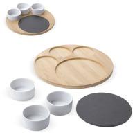 Set pour tapas et fromage en bambou