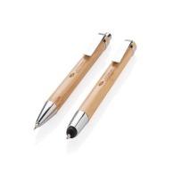 Set stylo en bambou