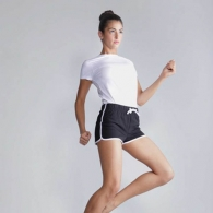 Shorts femmes avec logo