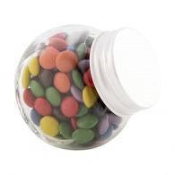 Mini pot de pastilles chocolatées