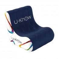 Asiento inflable 1 lugar