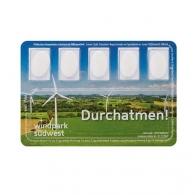 Smart Card, pastilles à la menthe
