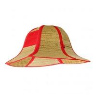 Chapeau de paille customisé