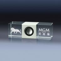 Speaker gravure laser