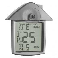 Station météo publicitaire maison Termohouse