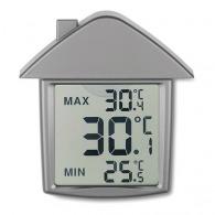 Station météo publicitaire maison à ventouse