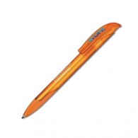 Stylo-bille challenger soft clear