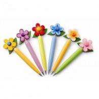 Stylo bille 'Fleur'