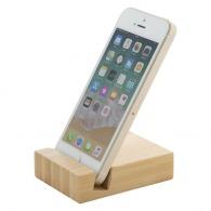 Support de téléphone personnalisé bambou