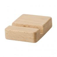 Support de téléphone logoté en bois