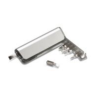 Support multi-outils et torche logotée alutool