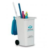 Pot à crayons logoté poubelle