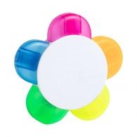 Resaltador de 5 colores
