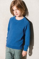 Sweat-shirt publicitaire bio manches raglan enfant - Kariban