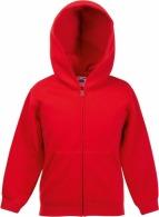 Fruit of the Loom children's zip-up hoodie