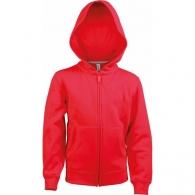 Hooded Sweat-Shirt Zipped Zipped Child Kariban